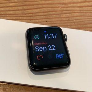 Apple watch series 2 42mm space gray aluminum